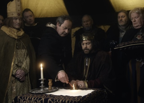 The sealing of Magna Carta